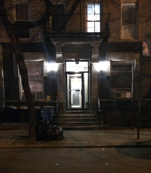 323 West 47th Street, NYC, my home between 1990-1993. I lived in the apartment at the end of the hall on the first floor, pictured here.