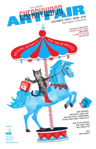 Cherrywood Art Fair 2014--my first juried art show