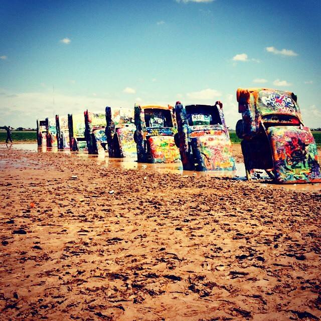 10 - Cadillac Ranch Amarillo TX