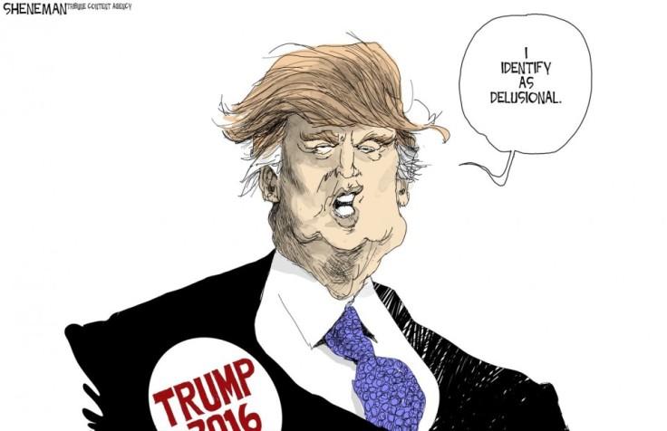 Trump Delusional